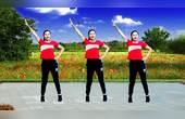 《祖国你好》嘹亮的歌声,简单的动作,歌舞相伴轻松锻炼