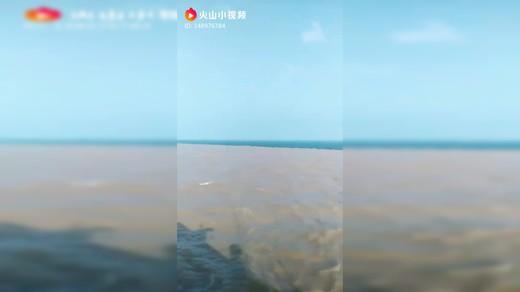 黄河与渤海,海河一线自然景观