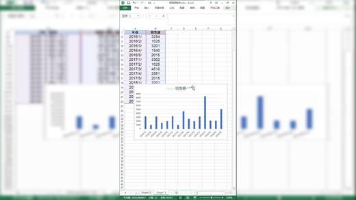 Excel柱状图可视化