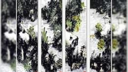 当代实力派国画家一丁创作《仙山问道图》 金安传媒