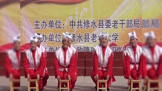 舞蹈(看山看水看中国)表演者广场(4)班