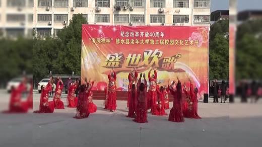 舞蹈(千年之约)表演者广场(1)班