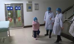 5歲女童出院跳舞感謝醫護人員