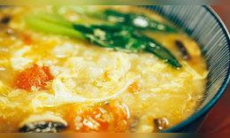 番茄雞蛋疙瘩湯