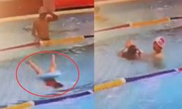 男童溺水小学生教科书式施救