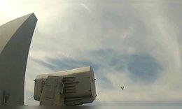 高速摄像机下-拉姆导弹发射,没想到是滚动飞行的