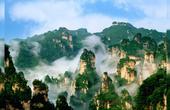 张家界,被韩国人称为圣山的地方