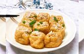 豆腐泡釀肉吃一次想一次