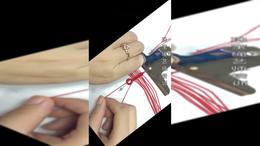 珠宝绳艺师培训 手工编绳 心形流苏 首饰绳艺设计培训