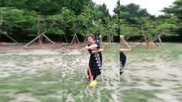 杨浦公园朱大姐流星球展示