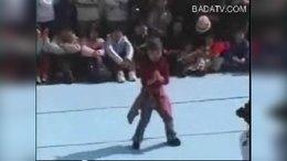 韩国8岁女孩街舞西克制作5