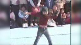 韩国8岁女孩街舞西克制作2街舞2b