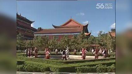 雲南【東華影視網】民族歌舞 对面山上有鲜花 流畅
