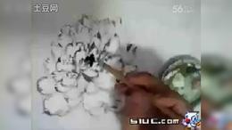 砚云网络教育——线条牡丹和水墨蝴蝶的画法_flv