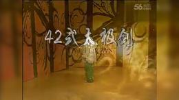 李德印四十二式太极剑 第3段