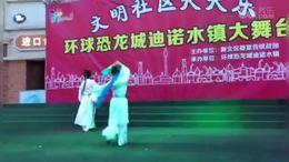 双人舞:梁祝.同窗 殷福平.陆凤娟演出