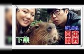 【鱼乾】关西八侠 日本VLOG [下] - 泡温泉的水豚!传说中的鲸头鹳? (With. 菜喳、滴妹