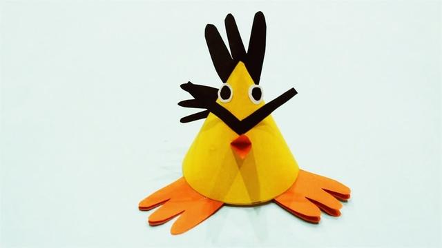 兒童手工制作大全 小怪獸折紙 創意手工小怪獸制作教程