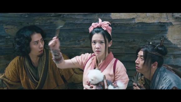 万万没想到:简直太逗,杨子姗拿个小锅铲打虎妖,要上演悲剧了图片