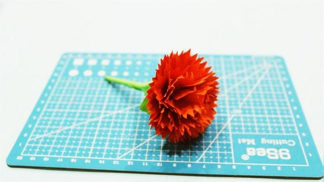兒童手工制作大全康乃馨制作方法創意花朵折紙
