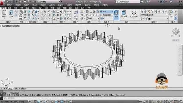 autocad2014破解版是autodesk 公司开发的一款自动计算机辅助设计软件图片