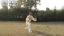 85式杨式太极拳(带口令背面演示)