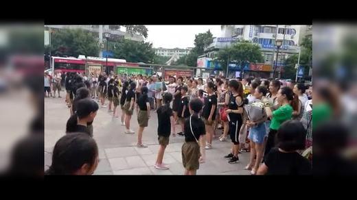 """20180722(""""领袖少年夏令营""""汇报演出)"""