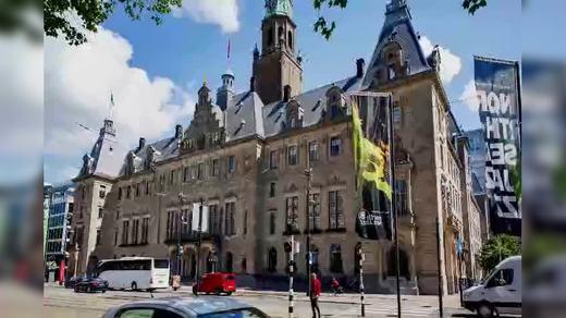 荷兰鹿特丹城市宣传片延时摄影 6284 4K