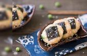 鲜美诱人的海苔豌豆虾饼