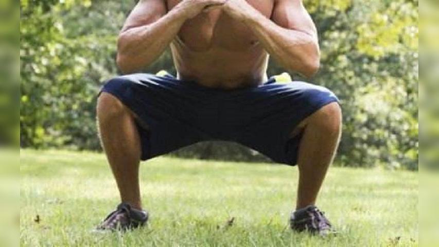 每天做几个深蹲起,才能提高男人能力?