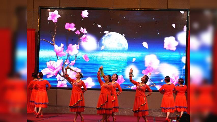 """东芳美舞蹈队《草原的月亮》--第二届""""五洲佳豪杯""""广场舞大赛"""