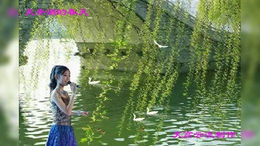 天井湖的春天(大美)