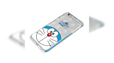 ROCK 哆啦A梦苹果6手机壳iPhone6s plus卡通创意保护套机器猫防摔