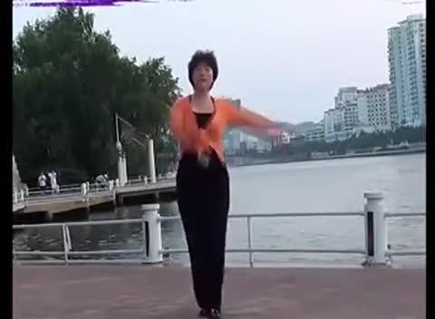广场舞又见山里红_最新广场舞教学:又见山里红---背面慢动作分解-舞蹈视频-搜狐视频