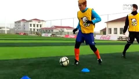 我爱足球重播_SFA足球教学(带球)-运动健身视频-搜狐视频