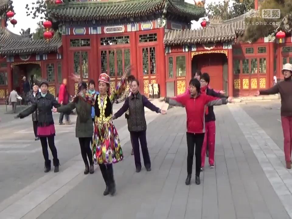 舞蹈吐鲁番的葡萄熟_新疆舞吐鲁番的葡萄熟了等你来高老师-舞蹈视频-搜狐视频