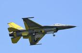 臺首架自行升級F16V試飛