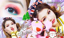 圣诞妆 缤纷闪耀节日妆
